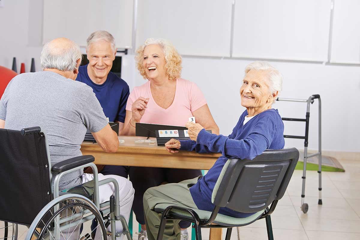 Senioren en verpleeghuizen